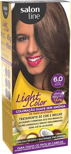 Light Color 6.0 Louro Escuro Salon Line, Salon Line, Marrom