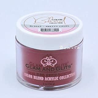Glam And Glits Acrylic Powder Color Blend Collection BL3045 Pretty Cruel 2 oz