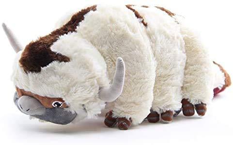 Huanchenda Avatar Last Airbender Appa Plüsch Spielzeug Appa Stofftier Kühe Stofftier, Kawaii Kissen Plüschtier