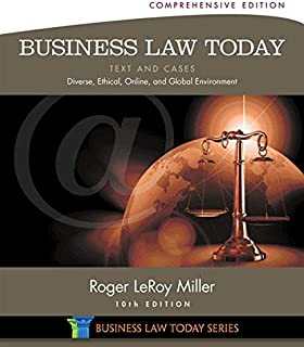 comprar comparacion Business Law Today: Text and Cases: Diverse, Ethical, Online, and Global Environment