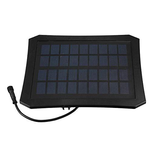 YHtech Luz eléctrica 7V de Bombas Temporizador/LED Estanque de jardín Bombas sumergibles de la energía Solar de Piscina de la Fuente de Agua de la Bomba de la válvula Kit