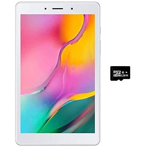 Samsung Galaxy Tab A 8.0' (2019, WiFi Only) 32GB, 5100mAh All Day Battery, Dual Speaker, SM-T290, International Model (32GB + 128GB SD Bundle, Silver)