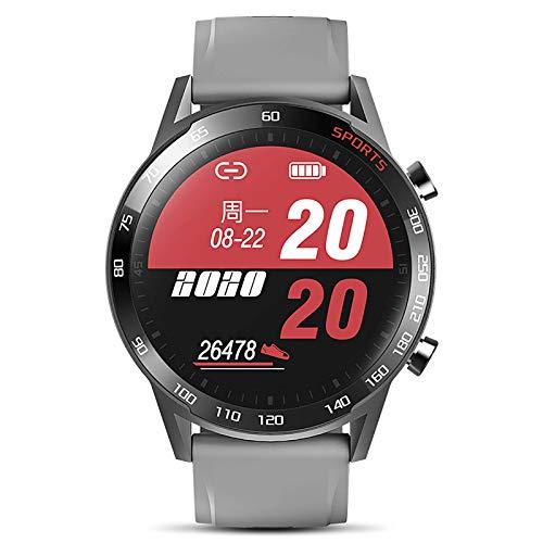 CIKO Pulso Esfigmomanómetro Y Pulsómetro Reloj Inteligente Impermeable para Hombre Mujer, Pulsera De Actividad Inteligente Podómetro con para Android iOS