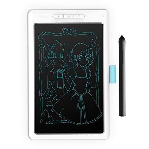 Tableta gráfica Digital Art de 10 Pulgadas 5080LPI con lápiz óptico de presión de Nivel 8192 (Blanco)