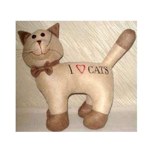 OLD & NEW S.R.L.., Türstopper CAT ICH Liebe Katzen