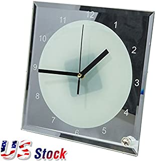 sublimation glass clock blanks