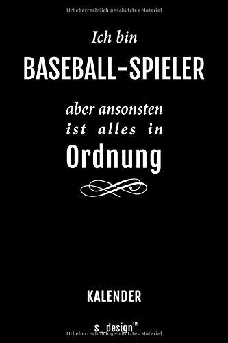 Kalender für Baseball-Spieler: Immerwährender Kalender / 365 Tage Tagebuch / Journal [3 Tage pro Seite] für Notizen, Planung / Planungen / Planer, Erinnerungen, Sprüche
