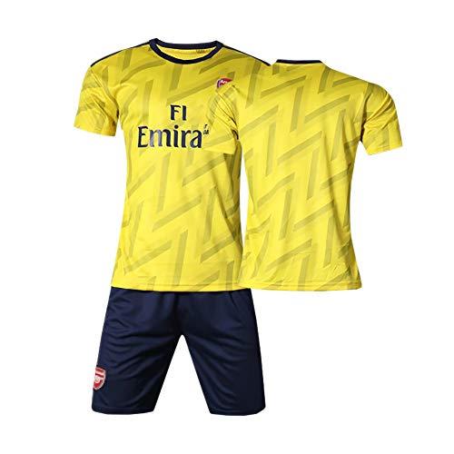 19-20 uitwedstrijdvoetbalshirt nr. 10 Ozil uniformen jongens en meisjes voetbaluniformen pakken, kinderspeluniformen