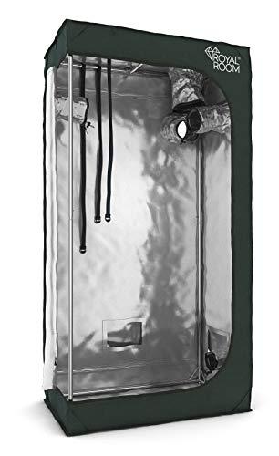 RoyalRoom® Growbox C80SH 80x40x160cm Growzelt Gewächshaus