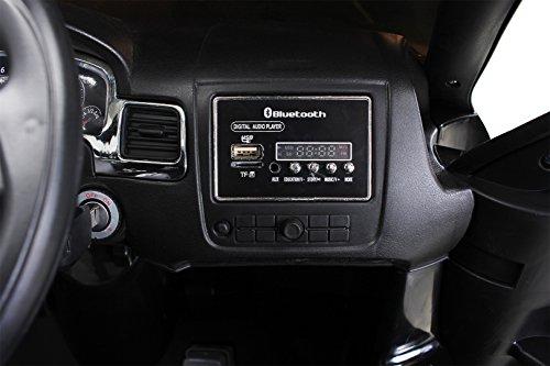 RC Auto kaufen Kinderauto Bild 4: Actionbikes Motors Kinder Elektroauto VW Touareg Kinderfahrzeug Kinder Auto Ledersitz Eva Reifen (Schwarz)*