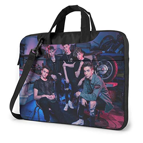 Wh_Y Do_N'T W_E Llaptop Bag 15.6 Inch Briefcase Shoulder Bag Satchel Tablet Bussiness Carrying Handbag Laptop Sleeve