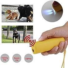 MegaStore Anti Bark Ultrasonic, Dog Training Repeller 3 in 1 Led Ultrasonic Anti Barking Stop Bark Pet - Stop Dog Barking Device, Ultrasonic Dog Pet Stop Barking, Dog Barking Stop