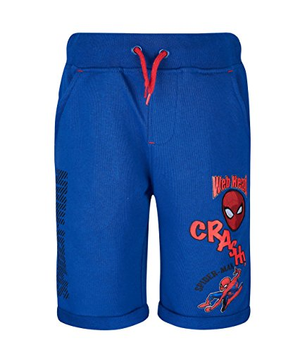 Spiderman Jungen Shorts - Marine blau - 140
