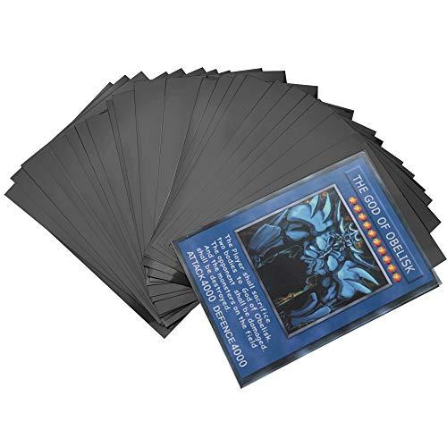 Fundas de tarjetas estándar, protectores transparentes para cartas para Pokémon, Magia, MTG, The Gathering , Juegos de mesa, Yugioh