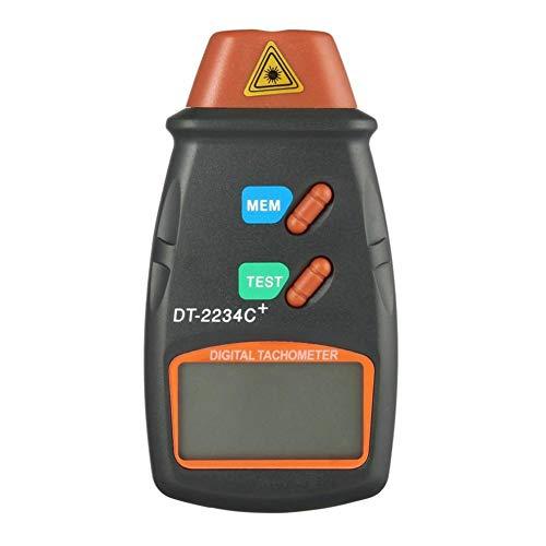 sunflowerany Digital Photo Tachometer Meter, Motortester Geschwindigkeitsmessung Drehzahlmesser 2,5-99999 RPM