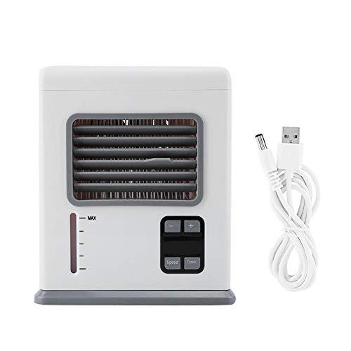 Rainbowrock Electrodomésticos-Electrodomésticos Mini Humidificador de Aire Acondicionado portátil Ventilador de refrigeración por Aire
