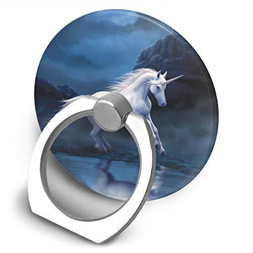 Fighwy Moonlight Licorne Support Universel pour téléphone Portable avec Support Rotatif à 360° pour iPhone, iPad, Samsung, HTC, Google Pixel, Nokia, LG