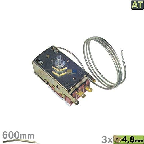 Termóstato del refrigerador Ranco K59-H1346 para Balay Bosch Constructa Liebherr Miele Siemens KFL KIR KFR compatible con bosch 167223