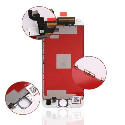 passionTR Ersatz-Display für iPhone 6S, 4,7 Zoll / 11,9 cm, LCD-Display, Digitizer, Komplett-Frontglas (Weiß)