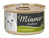 Comida para Gatos de Miamor, Paste, Conejo, 1 Unidad (1 x 85 g)