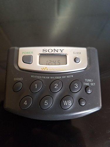 Sony AM/FM/Weather Walkman Radio - SRF-M37V