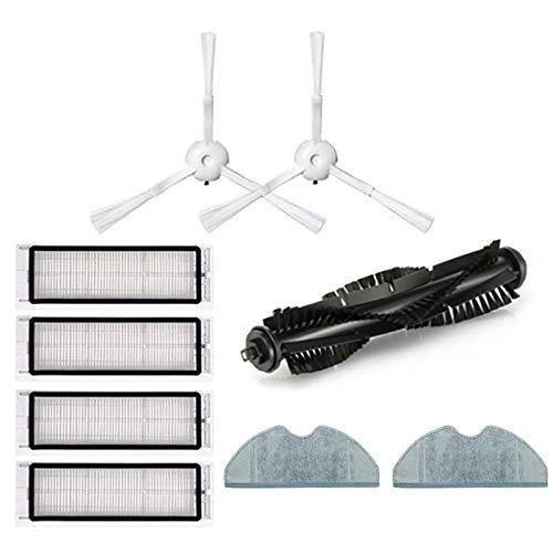 Moligh doll Staubsauger Haupt BüRste HEPA Filter Seiten BüRste Mopp Tuch für 360 S5 S7 Roboter Staubsauger Filter Teile Zubeh?R