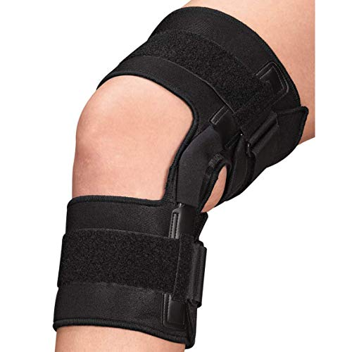 EasyComforts Knee Brace With Metal Support