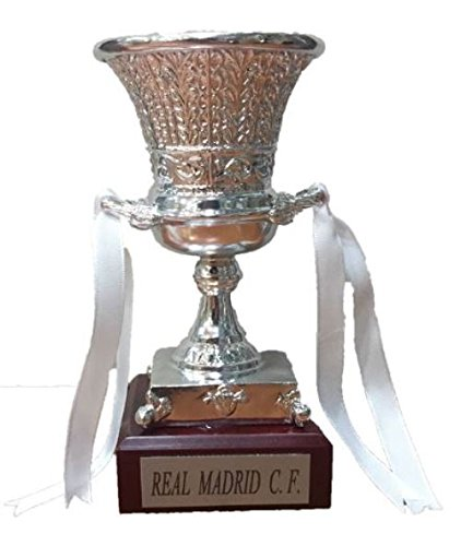 Trofeo SuperCopa Real Madrid Replica 15cm GRABADO Futbol coleccionistas SuperCopa de España Titulos Real Madrid Super Copa Real Madrid