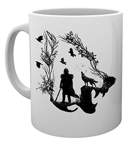 Solitario Lobo Taza Mug Cup