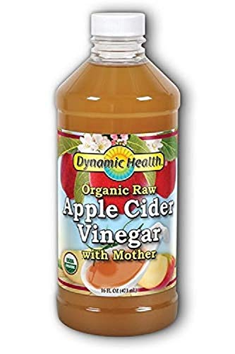 Organic Apple Cider Vinegar with Mother, 16OZ by Dynamic Health Laboratories