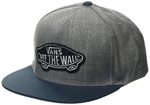 Vans Herren Classic Patch Snapback Baseball Cap, Grau (Heather Grey-Stargazer Ymk), One Size (Herstellergröße: OS)