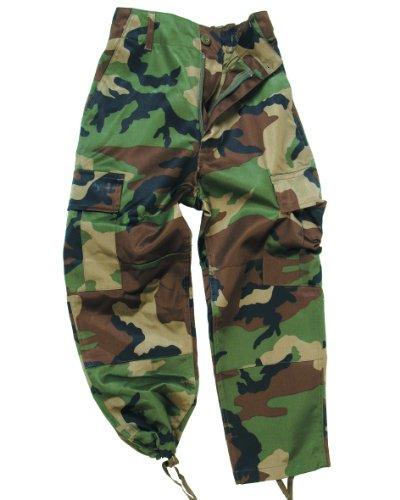 Mil-Tec - BDU Camouflage-Hose für Kinder, US-Army, Woodland, 158-164