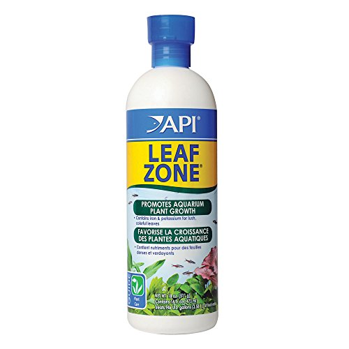 API LEAF ZONE Freshwater Aquarium Plant Fertilizer 16-Ounce Bottle