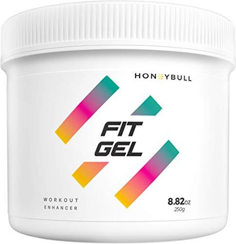 HoneyBull Fit Gel (8.8 oz) Coconut Workout Enhancer
