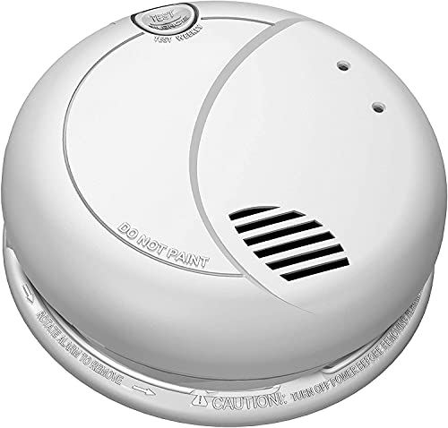 ZEUS CCTV ZCH-SMK1080 Full HD 1080P Battery Powered Smoke Detector HD Spy Camera Covert Surveillance Hidden Smoke Alarm Nanny Camera Spy Gadget (WI-FI Model / 180 Days Battery / w 16GB SD Card )