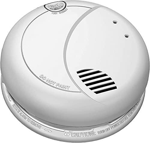 SecureGuard Smoke Detector WiFi Spy Camera