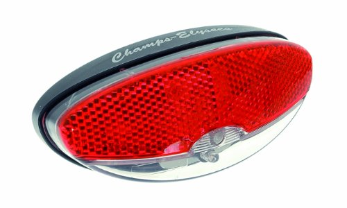 Büchel Champ Elysees LED Rücklicht, StVZO zugelassen, schwarz, 50060