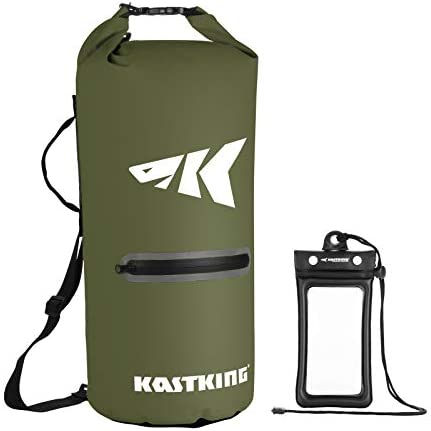 KastKing Cyclone Seal Dry Bag 100 Waterproof Bag with Phone Case Front Zippered Pocket Perfect product image
