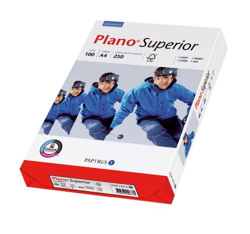 Papyrus 88026782 Drucker-/Kopierpapier Premium, PlanoSuperior: 100 g/m², DIN-A4 250 Blatt, weiß