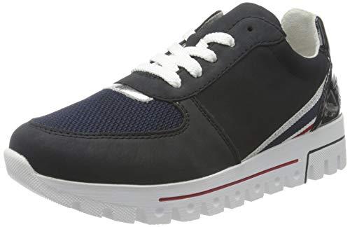 Rieker Damen L2803 Sneaker, blau,39 EU