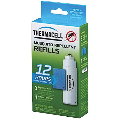 Thermacell Mosquito Repellent Refill Pack for Repellers, Torch and Lanterns - 12 Hours Protection