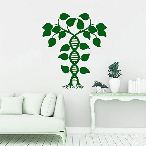 BFMBCH Bio DNA Life Tree Spiral Wandaufkleber Vinyl Wandaufkleber Schule Wohnzimmer Zubehör Wandaufkleber A1 36x42cm