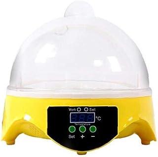 Mini Egg Incubator Multi Function 7 Hole Design Egg Hatcher Portable Home Incubator Semi Automatic Controlled Temperature ...