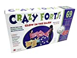 Everest Toys Crazy Forts, Glow in the Dark, 69 pieces