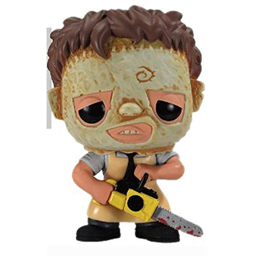 GJLMR Texas Massacre Massacre Figure Leatherface Q Version Vinyl 10cm XCJSWZZ