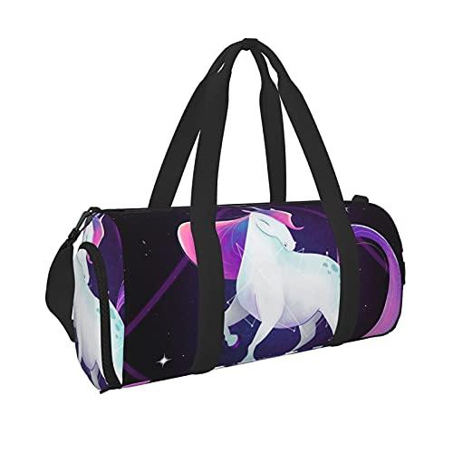 Unicorno 3 leggero zaino sportivo bagagli Tote Bag per sport palestra nuoto Carry On