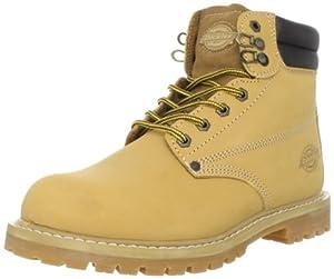 "Dickies Men's Raider 6"" Leather Work Boot,Wheat,12 M US"