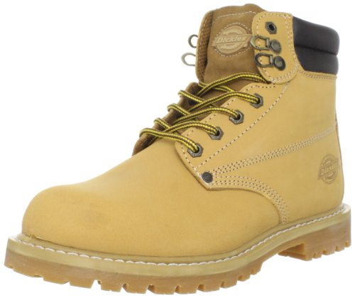 Dickies Men's Raider 6' Leather Work Boot,Wheat,12 M US