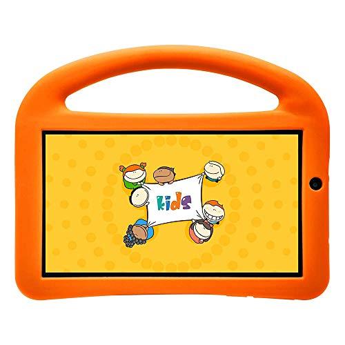 Tablet com Capa, DL, Creative Kids, TX381BLJ, 8GB, 7', Branco/Laranja