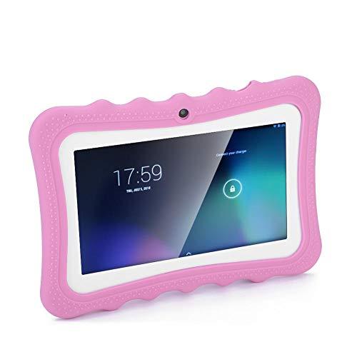 VBESTLIFE Tablet PC per Bambini da 7 Pollici Touch Screen Tablet PC con Protezione degli Occhi WiFi 512 M di RAM e 8 GB di Rom con Lunga Durata per Bambini(Rosa)